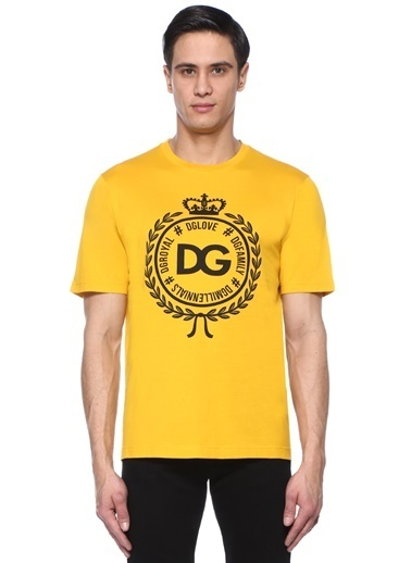 Dolce&Gabbana Tişört Hardal